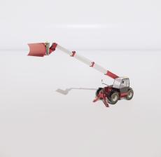挖掘机3_Sketchup模型