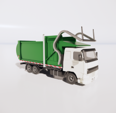 环卫车2_Sketchup模型