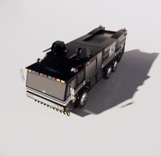 警车10_Sketchup模型