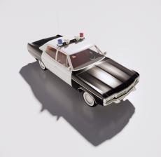 警车2_Sketchup模型