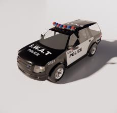 警车5_Sketchup模型