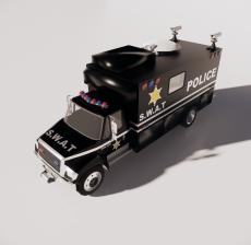 警车6_Sketchup模型