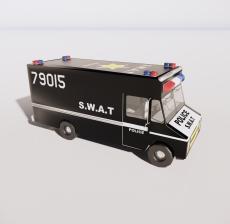警车8_Sketchup模型