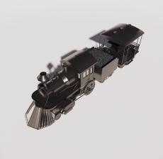 货运火车_Sketchup模型