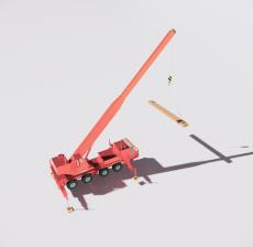 起重机3_Sketchup模型