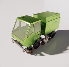 运输车1_Sketchup模型