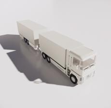 运输车4_Sketchup模型