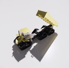 运输车_Sketchup模型