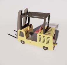 铲车1_Sketchup模型