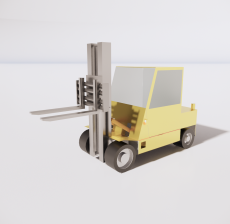 铲车2_Sketchup模型