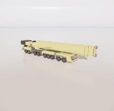 高空作业车2_Sketchup模型