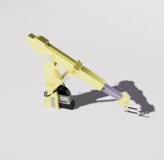 高空作业车_Sketchup模型