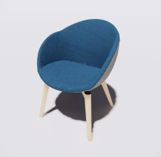 办公椅3_Sketchup模型
