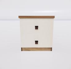 床头柜2_Sketchup模型