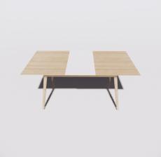 餐桌20_Sketchup模型