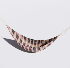 吊床1_Sketchup模型