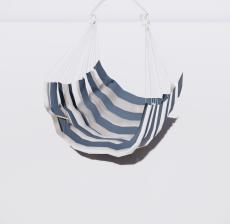 吊床3_Sketchup模型