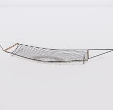 吊床4_Sketchup模型