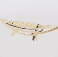 吊床6_Sketchup模型