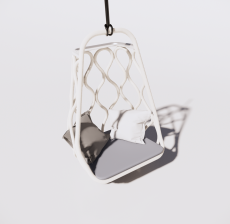 吊椅2_Sketchup模型