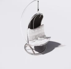 吊椅3_Sketchup模型