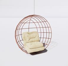 吊椅5_Sketchup模型
