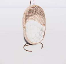 吊椅6_Sketchup模型