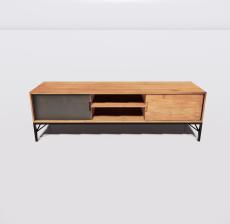 电视柜10_Sketchup模型