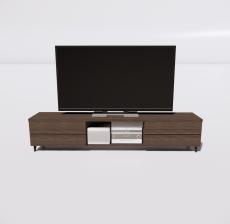 电视柜1_Sketchup模型
