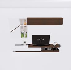 电视柜2_Sketchup模型