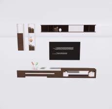 电视柜4_Sketchup模型