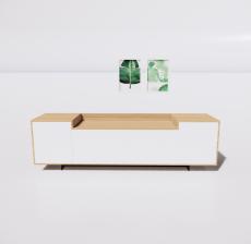 电视柜5_Sketchup模型