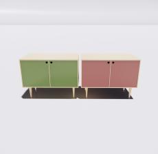 电视柜6_Sketchup模型