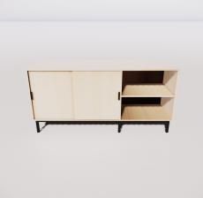 电视柜8_Sketchup模型