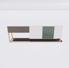 电视柜9_Sketchup模型
