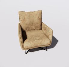 沙发2_Sketchup模型