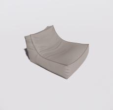 沙发4_Sketchup模型