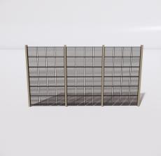 花架15_Sketchup模型