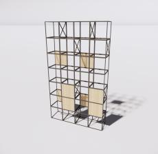 花架34_Sketchup模型