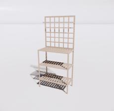 花架7_Sketchup模型