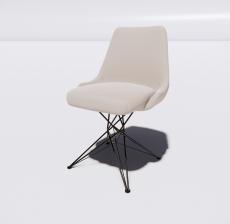 折叠椅(2)_Sketchup模型
