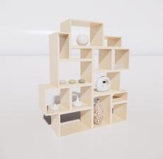 置物架1_Sketchup模型