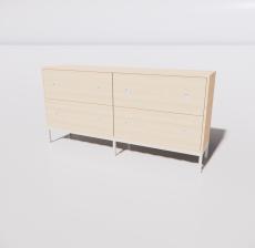 装饰柜_Sketchup模型