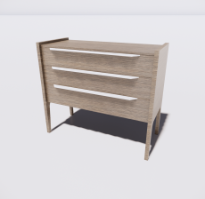 B-柜子2_Sketchup模型