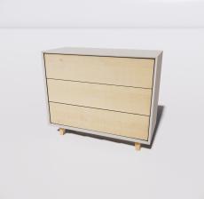 B-柜子6_Sketchup模型