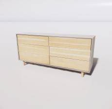 B-柜子7_Sketchup模型