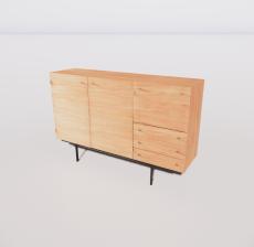 B-柜子9_Sketchup模型