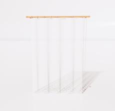 垂直帘_Sketchup模型