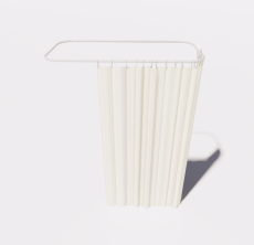 浴帘2_Sketchup模型