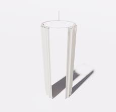 浴帘_Sketchup模型